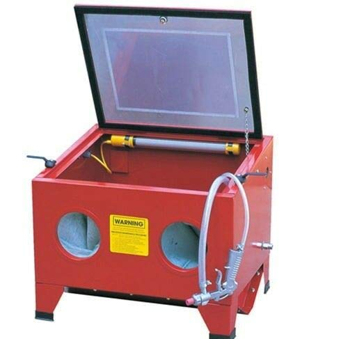 New New Tools Vertical SandBlaster Bench Top Cabinet Air Sand Blaster Sand Blast w/Spray Gun/good qu...