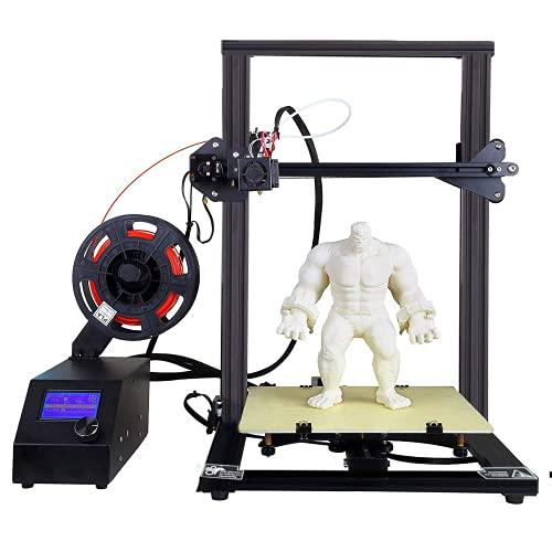 Stampante 3D AA+inks A10S Stampante 3D desktop fai da te Stampante ad alta precisione con filamento per stampante 3D ABS/PLA da 1,75 mm, Dimensioni stampa: 300X300X 400mm