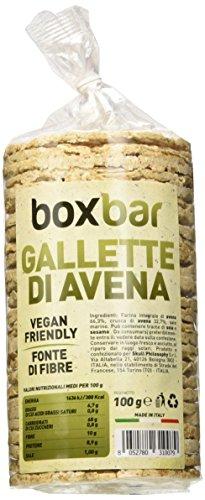 Boxbar Gallette di Avena Vegane - 12 confezioni
