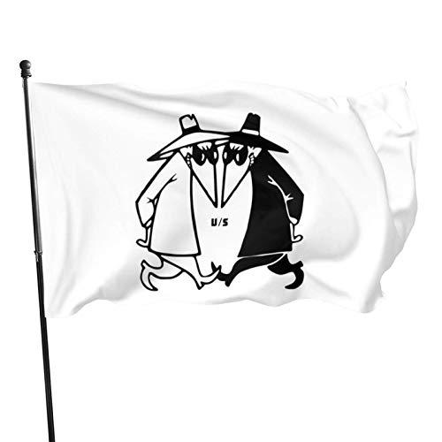 Yaxinduobao Spy Vs Spy Flag Bannerflaggen,3 * 5ft