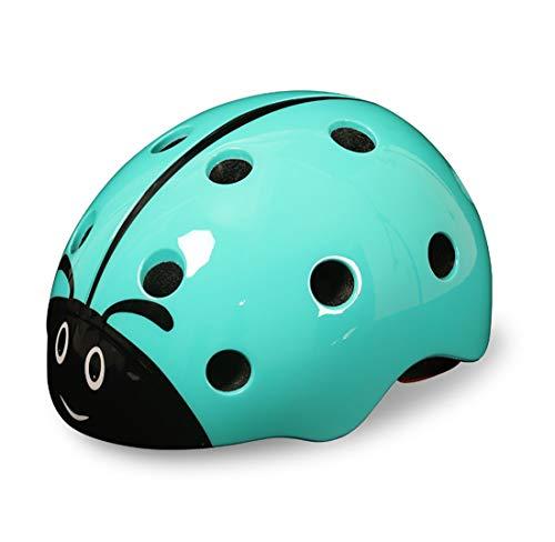 Accesorios para bicicletas Casco de bicicleta para niños modelo mariquita linda de...
