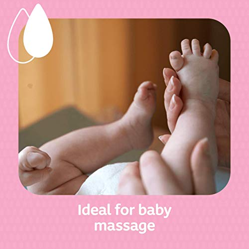 JOHNSON'S Baby Oil 500ml – Leaves Skin Soft and Smooth – Ideal for Delicate Skin