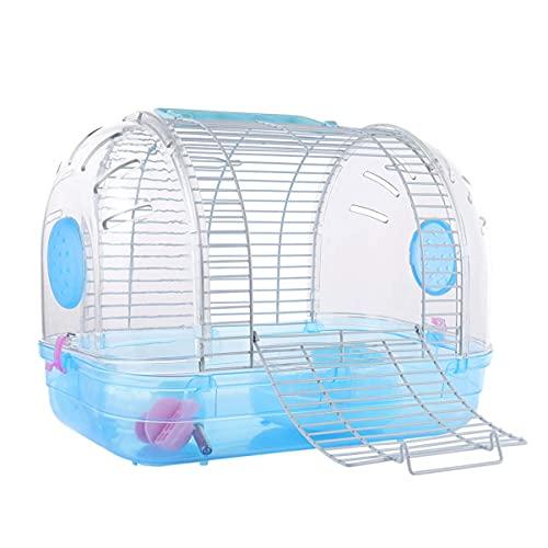 M I A Hábitat de animales pequeños - Caja de hámster portátil para casa de viaje al aire libre, bolsa para hámster, ardilla, ratas, ratas, azucarero