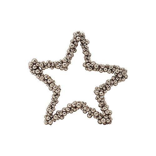 House Doctor - Anhänger, Weihnachtsdeko, Weihnachtsschmuck, Stern - Jingle - Gold - 20 cm