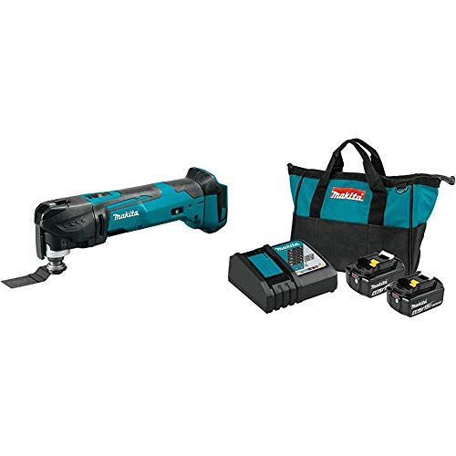 Buy Discount Makita XMT03Z 18V LXT Lithium-Ion Cordless Multi-Tool tool-less with BL1840BDC2 18-Volt...