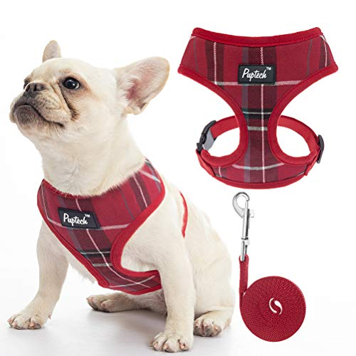 Soft Mesh Dog Harness Pet Puppy Comfort Padded Vest No Pull Harnesses for Small Dogs Cats Puppies