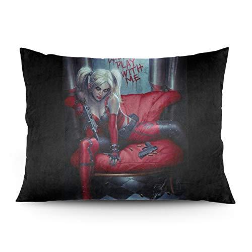 418qV3h38pL Harley Quinn Pillows