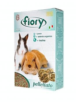 Fiory Alimento Roditori Pellettato Conigli e Cavie - 850 gr