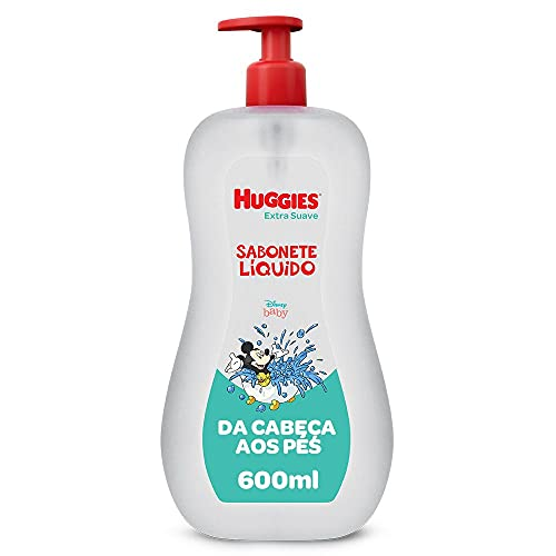 Sabonete Líquido Huggies Extra Suave - 600ml