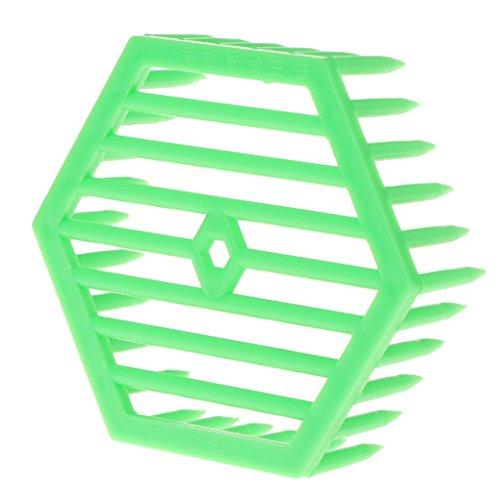ECMQS Abeille Reine Cage Apiculture Outil D'apiculture Matériel En Plastique Fournitures Hexagonales