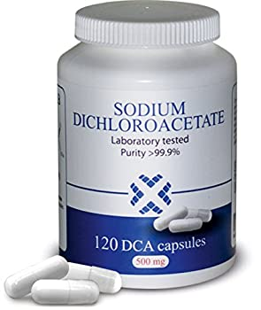 DCA-LAB DCA - Sodium Dichloroacetate 500mg - Purity >99.9% Made in Europe Certificate of Analysis Included Tested in a Certified Laboratory Buy Directly from Manufacturer 120 Capsules