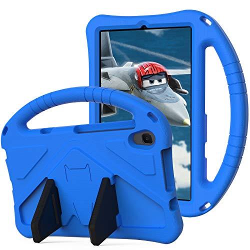Funda para tablet y PC, funda para niños, para Huawei Mediapad M5 Lite de 8 pulgadas, para niños, Eva a prueba de golpes, ligera, con soporte de Dropproof y asa grande, color azul