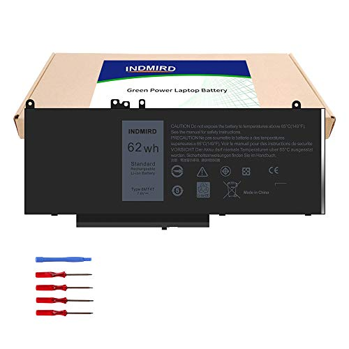 INDMIRD 6MT4T Laptop Battery Compatible with Dell Latitude 14 5470 E5470 15 5570 E5570 Precision 15 3510 M3510 Series Replacement 7V69Y HK6DV 0HK6DV 79VRK 079VRK TXF9M 0TXF9M (6MT4T)