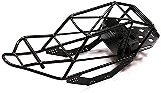 Integy RC Model Hop-ups C23299 2.2 Steel Roll Cage Tube Frame Chassis for Axial SCX-10 CF-100, Dingo & Honcho