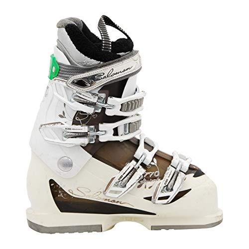 SALOMON Bota de esquí usada Modelo Divino Blanco