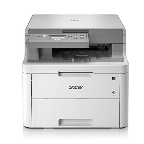 Brother DCP-L3510CDW Colour Laser Printer - All-in-One, Wireless/USB 2.0, Printer/Scanner/Copier, 2 Sided Printing, 18PPM, A4 Printer, Small Office/Home Office Printer