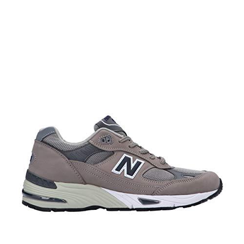 New Balance 991 Sneaker Uomo M991ANI Grey Navy (Numeric_45)