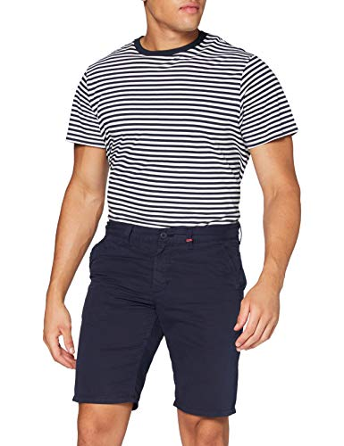 MAC Jeans Herren Lenny Bermuda Shorts, Blau (Nautic Blue PPT 196r), W38(Herstellergröße: 38/11)