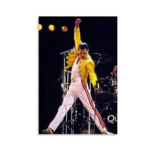 WUSOP Wembley Stadium Freddie Mercury - Poster artistico da parete con stampa artistica da parete in stile moderno, 30 x 45 cm