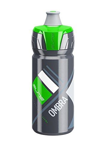 Elite Ombra Bidón, gris oscuro y verde, 550 ml, Multicolor, M