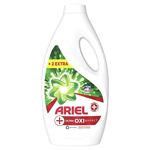 Ariel Detergente Líquido Efecto +Oxi, 27 Lavados, 1.485L