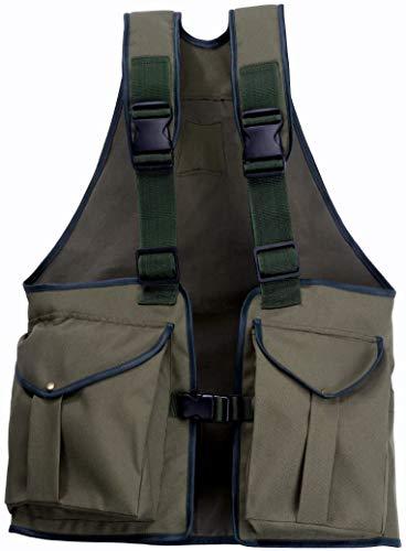 Romneys Dummyweste Jungla - Robust und strapazierfähig mit vielen Taschen und verstellbarem Tragegurt (Small)