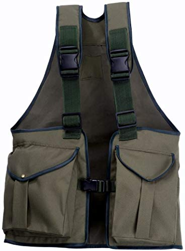 Romneys Dummyweste Jungla | Viele Taschen und viel Stauraum | Robust und strapazierfähing | Verstellbare Tragegurte (Large)