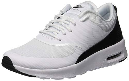 Nike Women's Air Max Thea Low Top Sneakers, White Black 111 6.5 UK