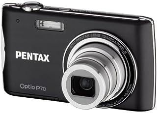 Pentax Optio P70 - Cámara Digital Compacta 12.4 MP - Negra (2.7 Pulgadas LCD 4X Zoom Óptico)