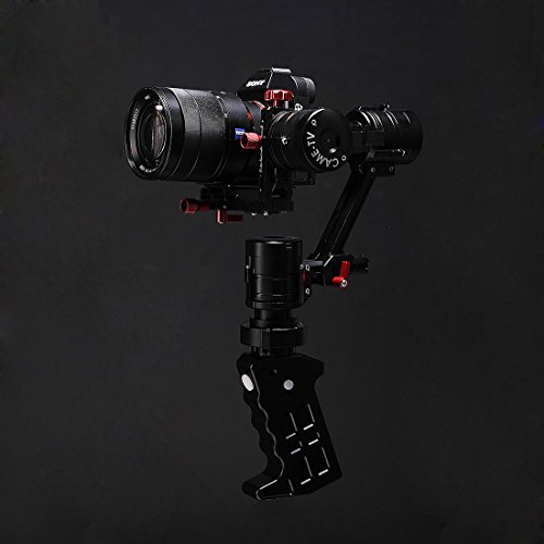 Came-TV CAME-Single 3-Axis 32-bit Handheld Gimbal with Encoders for Sony A7s, Panasonic GH4, Black Magic BMPCC Cameras