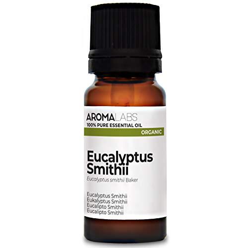 Eucalipto Smithii BIO - 10ml - Aceite esencial 100% natural y BIO - calidad verificada por cromatografía - Aroma Labs