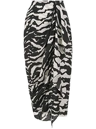 Luxury Fashion | Isabel Marant Dames JU110220P020I01BK Zwart Elasthaan Rokken | Lente-zomer 20