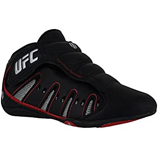 UFC Mens/Boys MMA Sports Leisure Kick Boxing Mid Boots Trainers UK 5 Black:Diet-beauty
