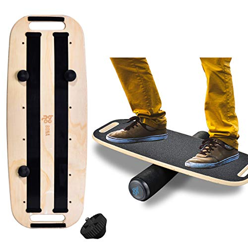 Balance Board Trainer for Fun, Challenging Fitness and Sports Training, Comes with 29.1