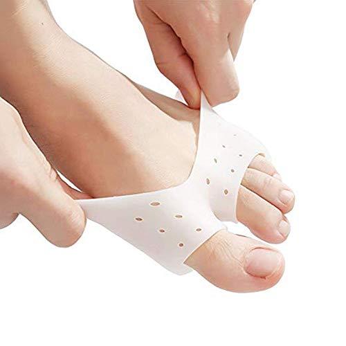 Pedimend, almohadilla para juanetes y antepié de media manga para dedo del pie | Almohadillas metatarsianas para cojín de pie | Alivia los callos y ampollas