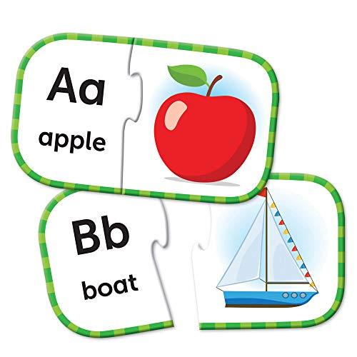 Learning Resources LER6085 ABC-Puzzlekarten, Vorbereitendes Lernen im Vorschulalter, Puzzles zur Eigenüberprüfung, ab 3Jahren