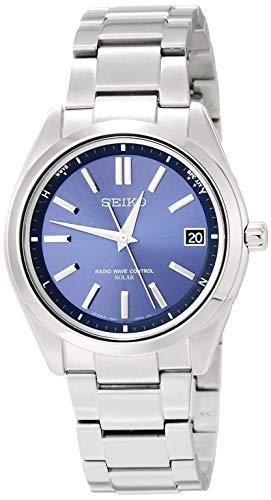 [セイコーウォッチ] 腕時計 ブライツ ソーラー電波修正 サファイアガラス SAGZ081 メンズ シルバー