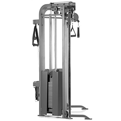 Product Image 3: XMark Functional Trainer Cable Machine with Dual 200 lb Weight Stacks, 19 Adjustments, and Accessory Package XM-7626