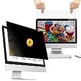 WELINC 21 Inch - 16:10 Aspect Ratio - Computer Privacy Screen Filter for Widescreen Monitor - Anti-Glare - Anti-Scratch Protector Film - Please Measure Carefully