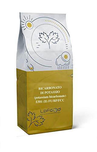 BICARBONATO DI POTASSIO E501 (II) FU/BP/FCC - 1KG