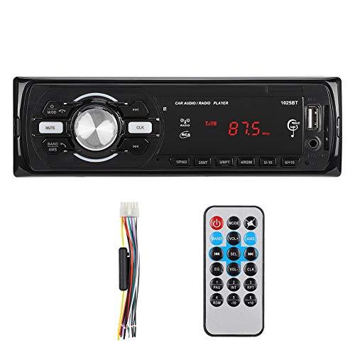 Bluetooth in het dashboard Autoradio Audio MP3 programmeur Kaartlezer Speler Ontvanger 4x50W Bluetooth handsfree systeem Draadloze zender Audiospeler met afstandsbediening Ingebouwde radio FM tune