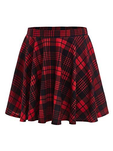 Falda Roja  marca ROMWE
