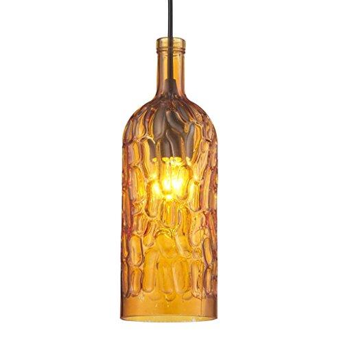 BAIJJ Lamp Hanglampen Kroonluchter Flessen, Glazen Kroonluchters Eenvoudige Koffiepot Kleur Bar [Energie Klasse A ++] (Kleur: C)
