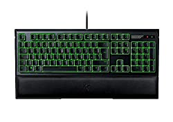 in budget affordable RAZER ORNATA EXPERT: Mechanical Membrane – Medium Height Key with Individual Illumination – Artificial Leather Wrist…