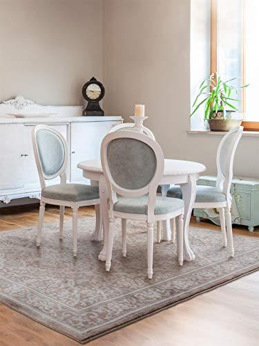 benuta Teppich Visconti Braun 80x150 cm | Moderner Teppich für Wohn- und Schlafzimmer