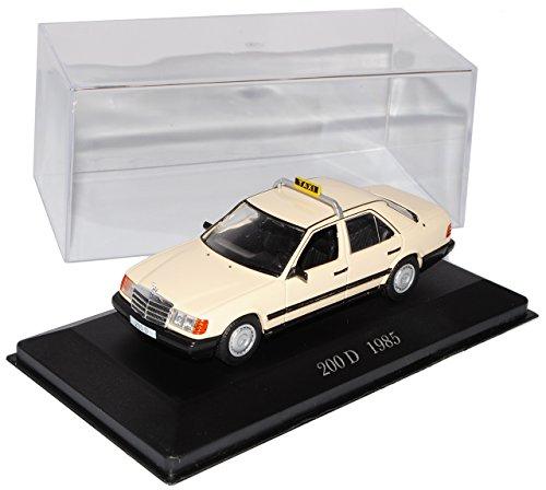 Ixo Mercedes-Benz E-Klasse W124 230 D Limousine Taxi Beige 1984-1997 Nr 73 1/43 Modell Auto