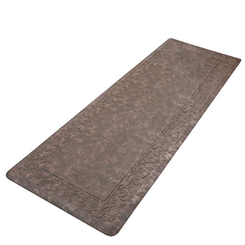 HEBE Kitchen Mat Cushioned Anti Fatigue Floor Mat Waterproof Non-Slip Comfort Standing Mat Ergonomic Kitchen Floor Mat Rug Runner for Office,Sink,Laundry,Desk,20'x60'