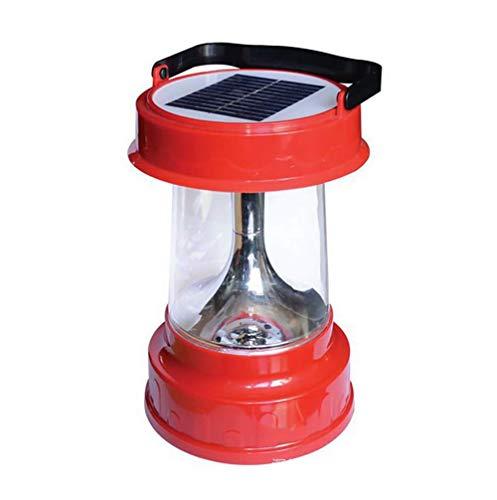 KEKE Solarlampe USB Wiederaufladbare Camping Notbeleuchtung, Tragbare Multifunktions Photovoltaikanlagen