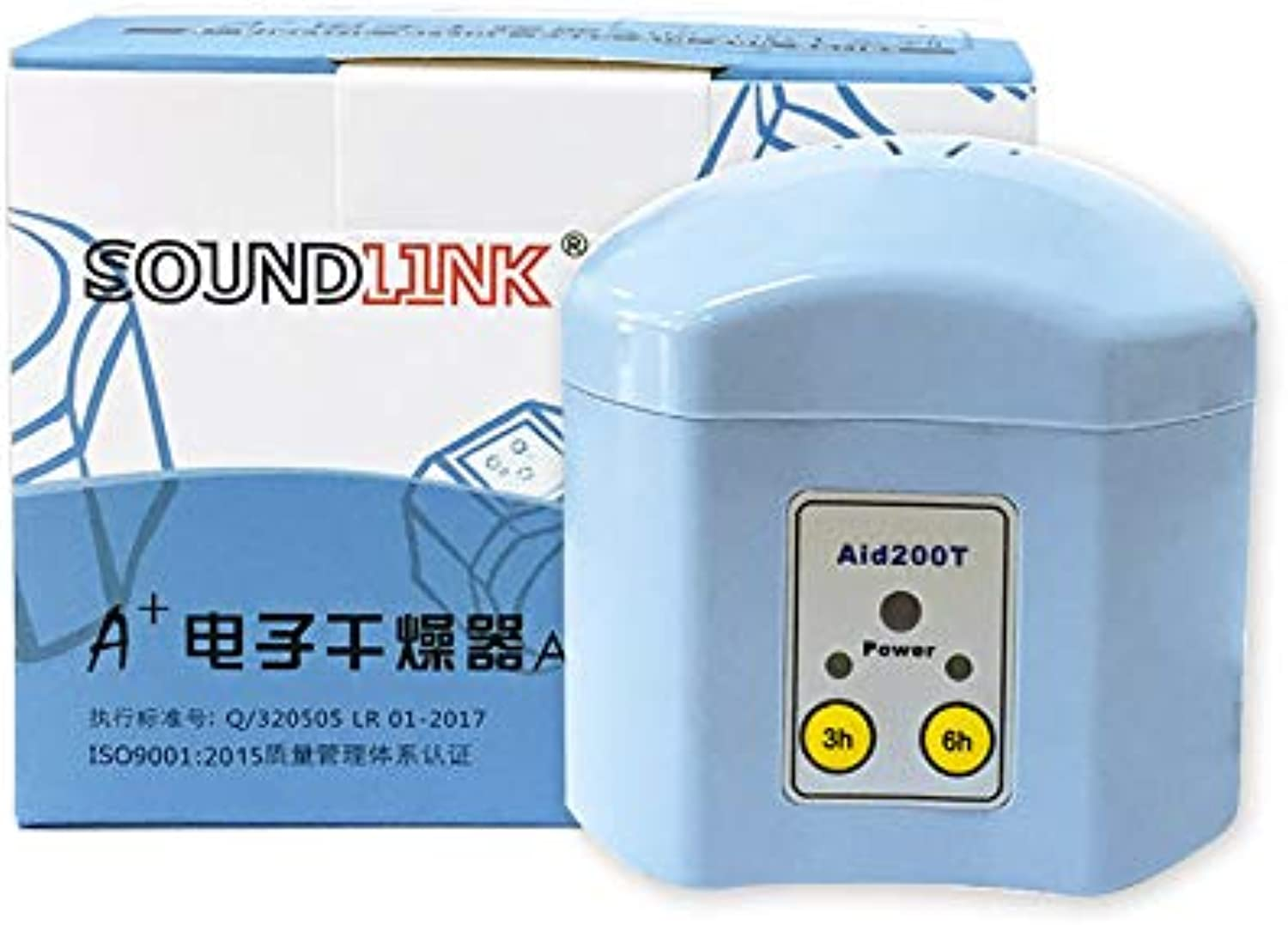 Hearing aid Dryer 3 6hour Timer Drying Electronic Box dehumidifier Dryer Drying Box Predection inEar Headphone Listener
