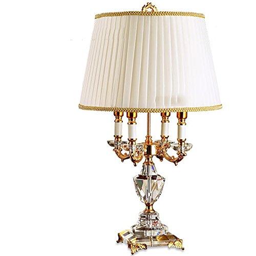 Lampes QY de Table de Chevet Moderne Chambre Minimaliste Moderne en Cristal créative de Chevet